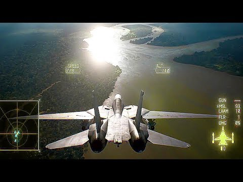 Ace Combat 7 - 15 Minutes Of Gameplay Demo PS4 (E3 2017)