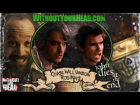 """Chase Williamson and Rob Mayes of """"John Dies at the End"""" WYH Interview"""
