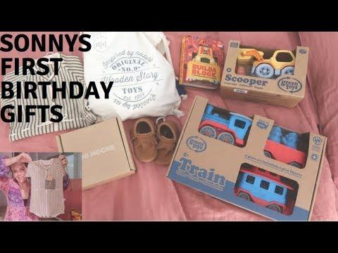 Baby First Birthday Gift Ideas
