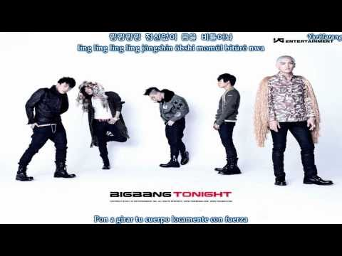 Big Bang - Hands Up Versión Coreana [Sub Español + Hangul + Romanizacion]