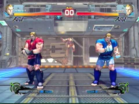 Ultra Street Fighter 4 All Characters Time Over Animations