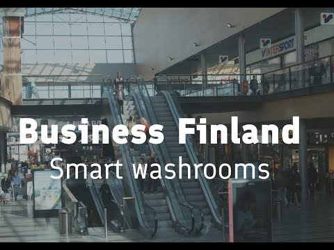 Business Finland - Smart washrooms with Lindström, Haltian and Wirepas
