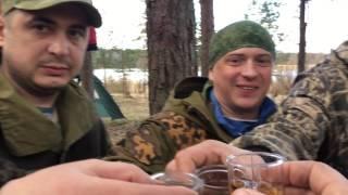 Строим домик в походе /Рыбалка на Вуоксе#Карельский перешеек .