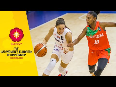 Serbia v Portugal - Full Game - FIBA U20 Women's European Championship 2019