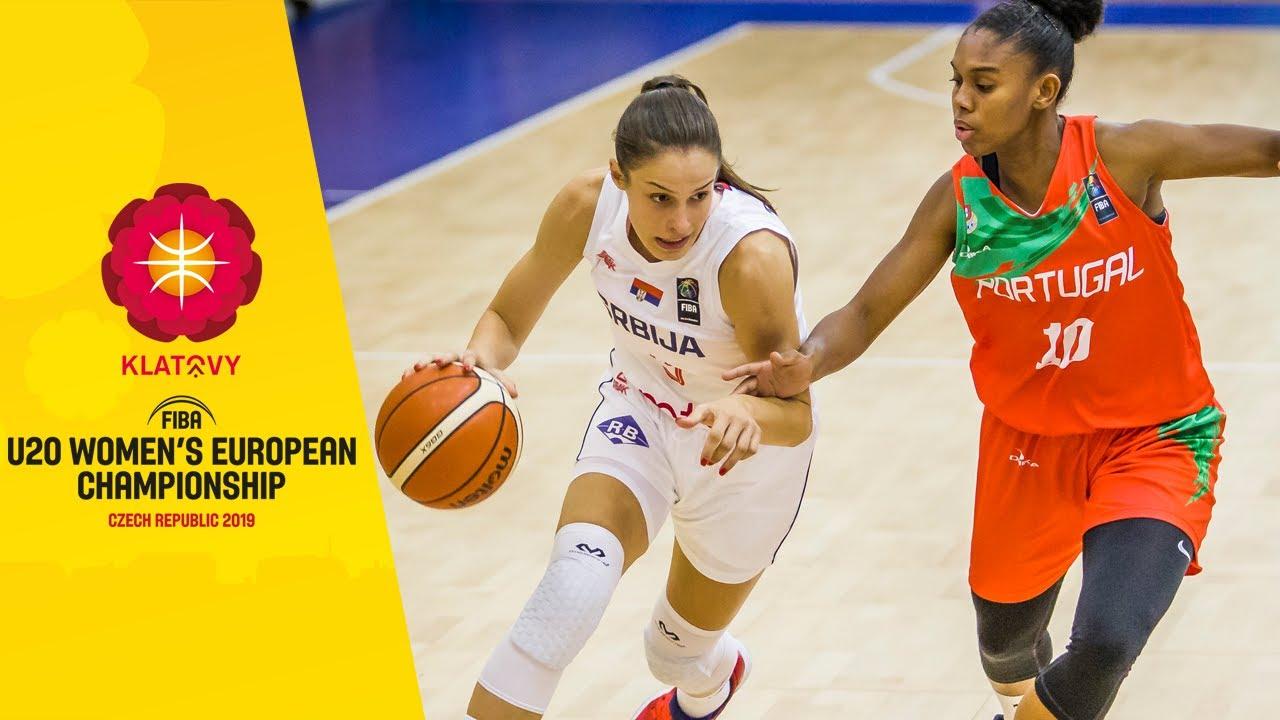 Serbia v Portugal - Full Game - FIBA U20 Women's European Championship 2019