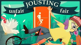 The Boys head back to the ren faire...and take up jousting! Who will become the best jouster?