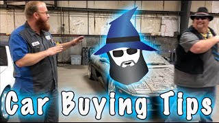 Car Buying Tips from the CAR WIZARD