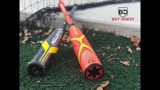 2019 Easton Ghost Evolution vs 2018 Easton Ghost USA comparison