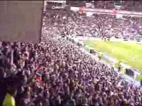 Rangers fans do 'The Bouncy' - Rangers vs Celtic 29/3/08