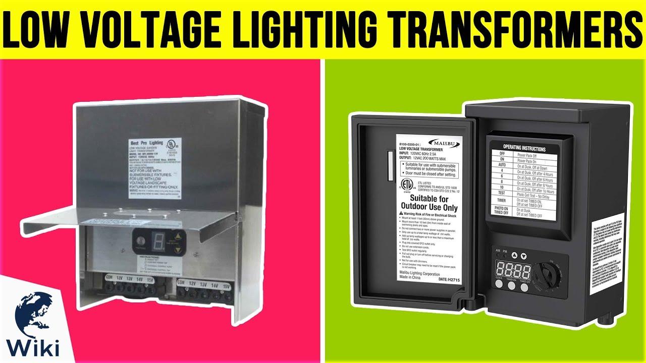 6 Best Low Voltage Lighting Transformers 2019