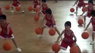 Детский баскетбол в Китае