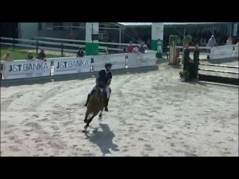 """Middle Europe Jumping Cup - HOBBY 100 cm  """"Z"""" FINÁLE"""