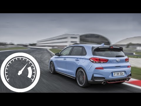 Hyundai i30 N Performance 275 HP acceleration 0 100 km h, 0 200, 0 250 km h 1001cars