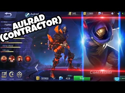 AULRAD (CONTRACTOR) MOBILE LEGENDS NEW HERO