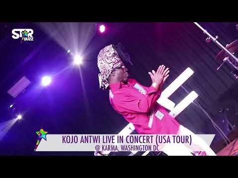 KOJO ANTWI LIVE CONCERT DC, USA   STARBUZZ TV