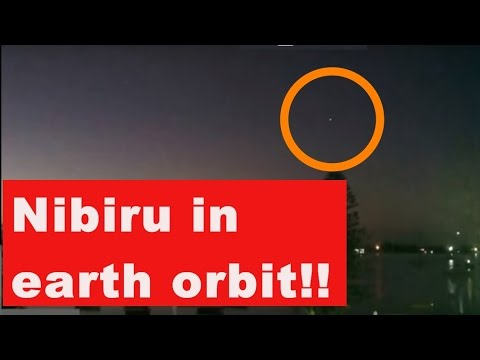 NASA Can hide NIBIRU truth but Webcam DO NOT lie! Planet X In Earth Orbit! PROOF