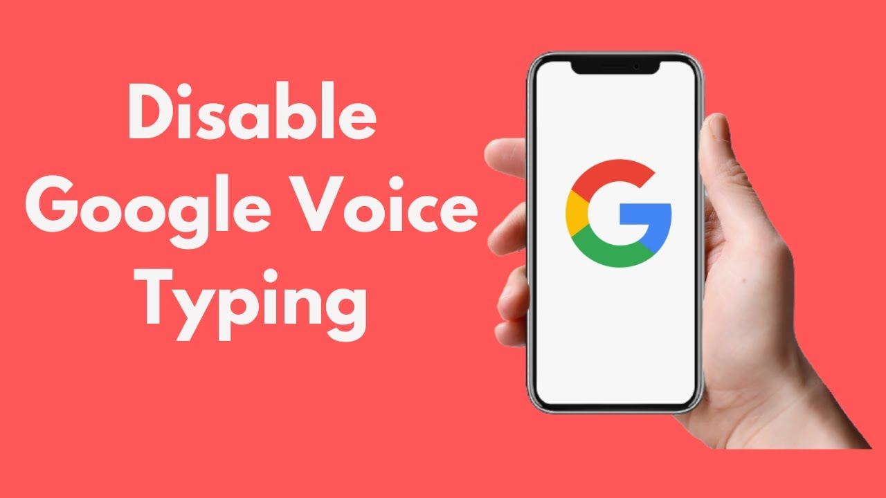 How to Disable Google Voice Typing ...