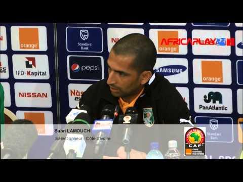 "CAN 2013 - Sabri Lamouchi : ""La star c'est l'équipe"""