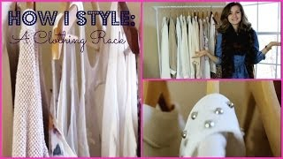 How to Style a Clothing Rack | Whats on my Clothing Rack Thumbnail