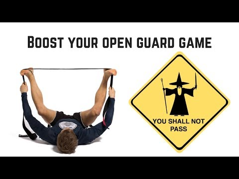 Improve Your Open Guard Game With This Pose