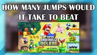 Hello and welcome to another challenge video here on ME Plays. Today I'll be trying to beat New Super Mario Bros. U Deluxe with as few jumps as possible.