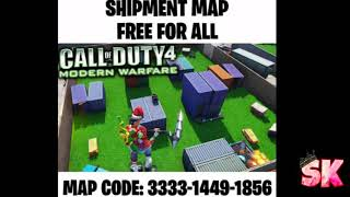 Call Of Duty Shipment Map Remake With Code (Fortnite Creative)