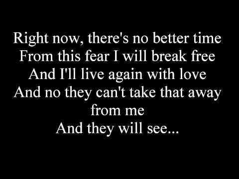 Celine Dion - I Surrender - with lyrics