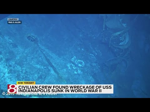 USS Indianapolis wreckage found