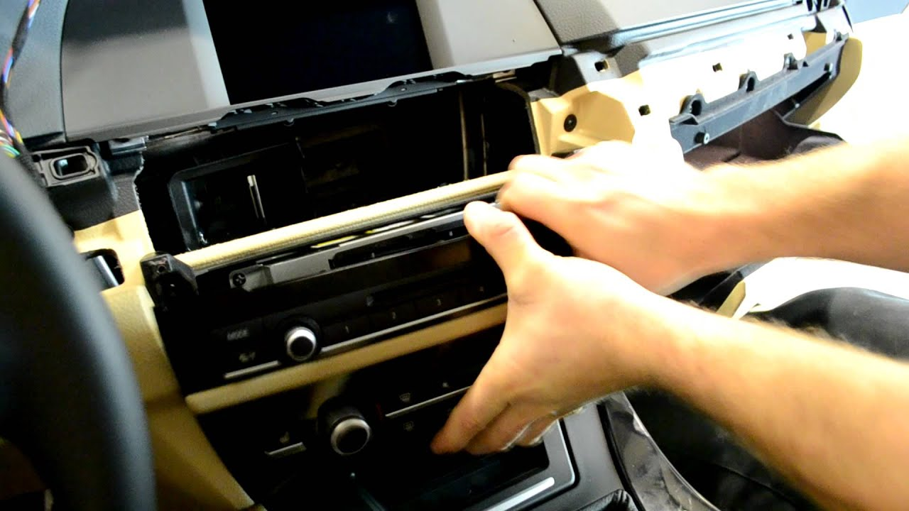 Bmw F10 Radio Removal 5 Series Youtube