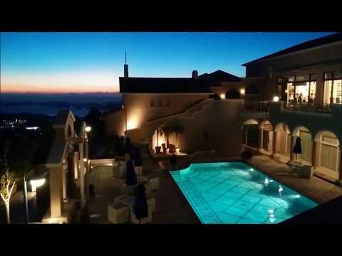 弓張の丘ホテルの夜景