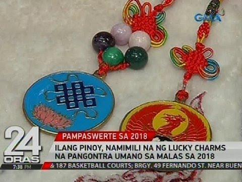 Ilang Pinoy, namimili na ng lucky charms na pangontra umano sa malas sa 2018