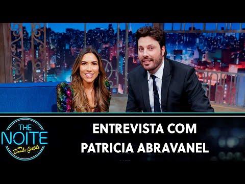 Entrevista com Patricia Abravanel  The Noite 150819