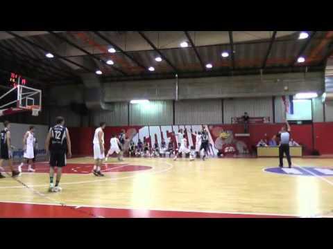 B košarkaška liga CENTAR 2013 2014 KK VERN vs KK AUCTOR SESVETE