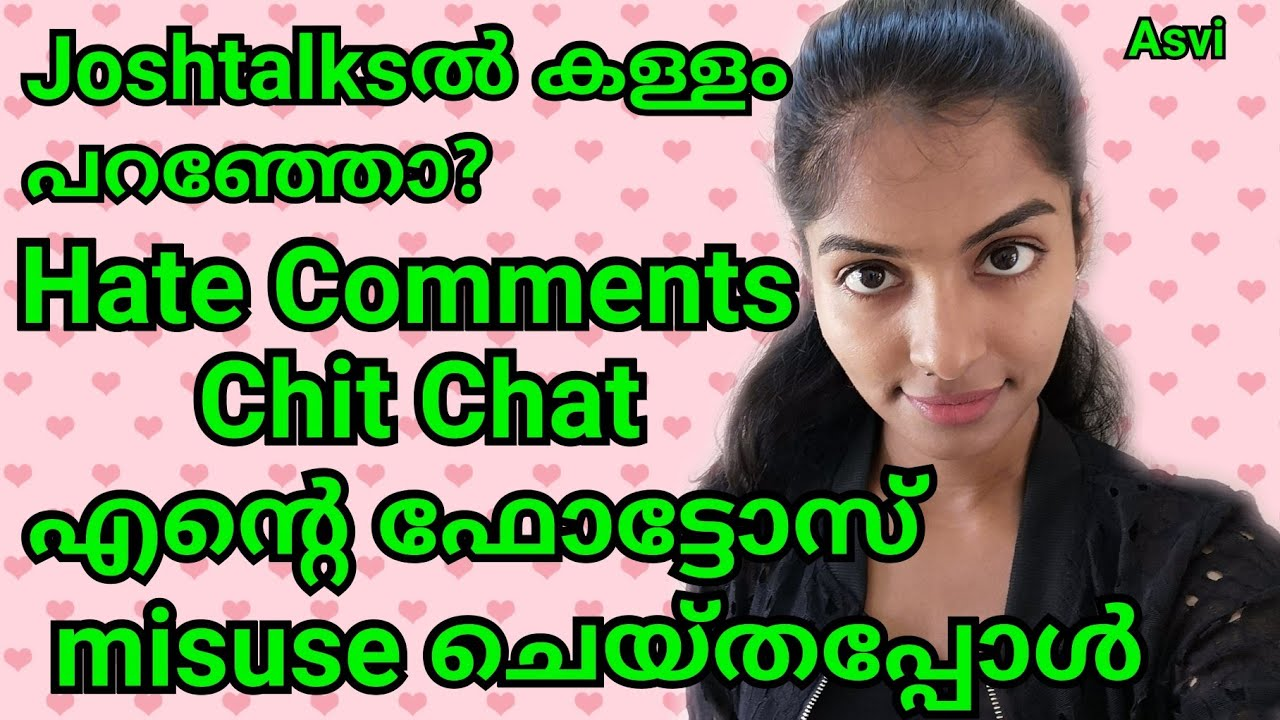 Chit chat Hate comments About Sponsored video Clearing all doubts Malayali vlogger Asvi Malayalam