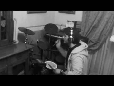 Emma - calore testo karaoke (drum cover jop giovanni pellegrino).m4v