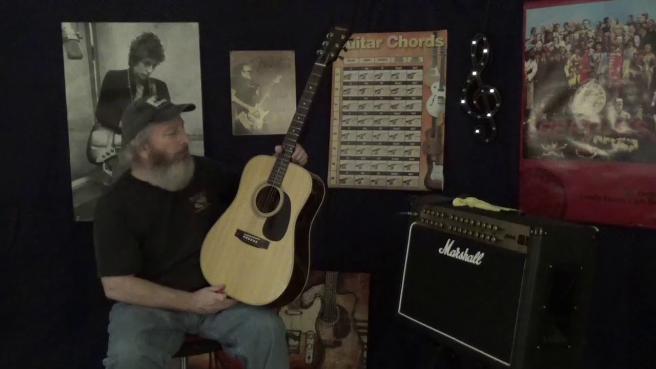 EPIPHONE ACOUSTIC GUITAR OVERVIEW: Early to Mid 80's PR-715-N (made in  Japan)