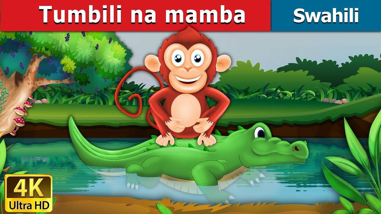 Download Tumbili na mamba | Hadithi za Kiswahili | Swahili Fairy Tales