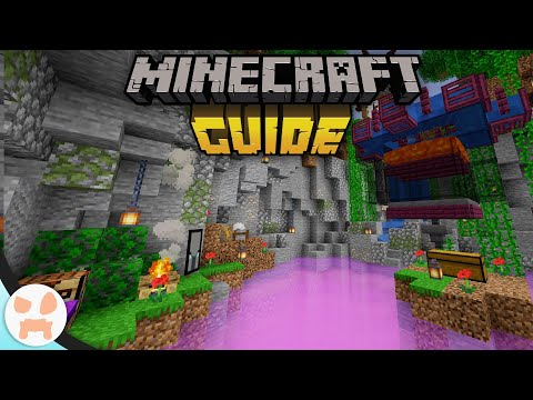 IRON FOG CAVE - TERRAFORM TRICKS! | The Minecraft Guide - Tutorial Lets Play (Ep. 48)