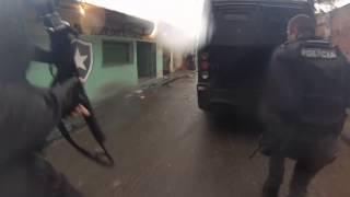 Policias do 27º BPM são recebidos a tiros na favela do Rola em Santa Cruz