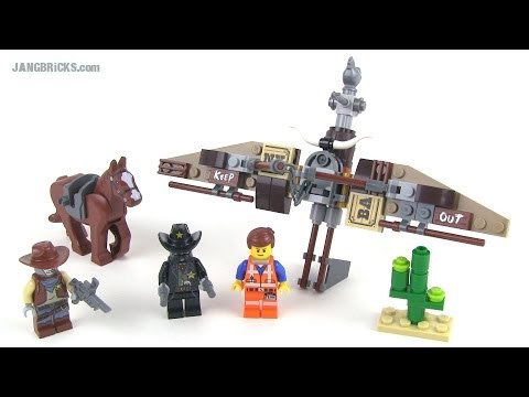 LEGO Movie set review: Getaway Glider 70800!