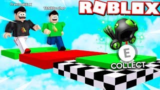 ROBLOX 1v1 OBBY RACE vs MY LITTLE BROTHER! IF HE WINS HE GETS MY DOMINUS!