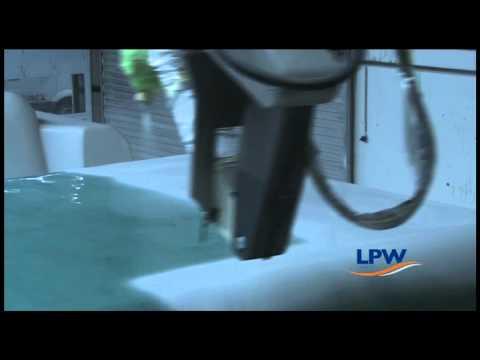 LPW zwembaden productie robot