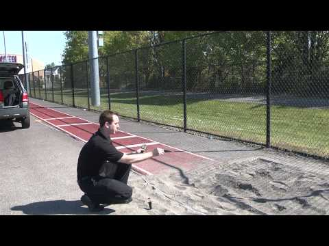 Long Jump Measuring