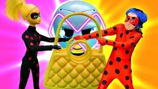 Игры для девочек - Леди Баг нужна помощь? - Видео с куклами из мультика.