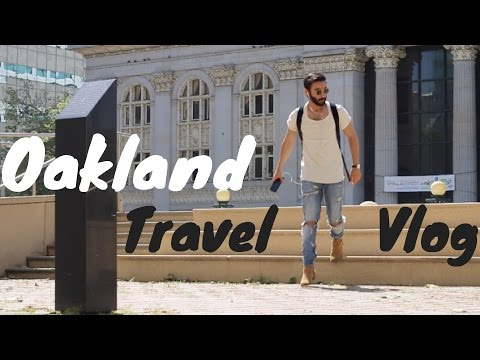 i went to Oakland  TRAVEL VLOG