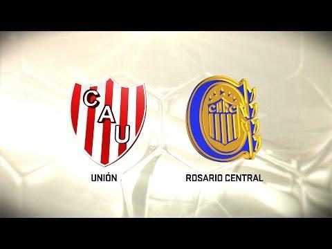 Fútbol en vivo. Unión vs. Rosario Central. Fecha 12. Torneo de Primera División 2016/2017. FPT