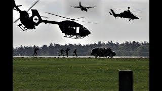 [HD] ILA 2018 Demonstration Spezialkräfte - Einsatz der Bundeswehr