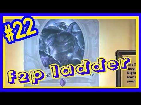 Hearthstone F2P ladder climb on EU #22 omg new cards