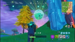 Secret 2019 Fortnite Disco Ball Live Event