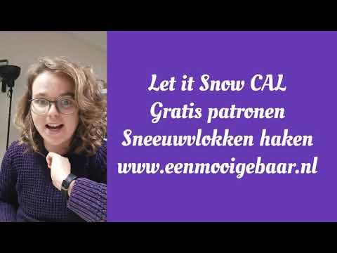 Let it Snow CAL - 1 december